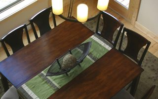 Image of the Blackmoon and Homestake Dinning Table