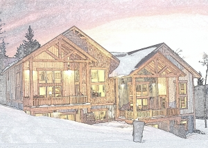 A Chalet Rendering