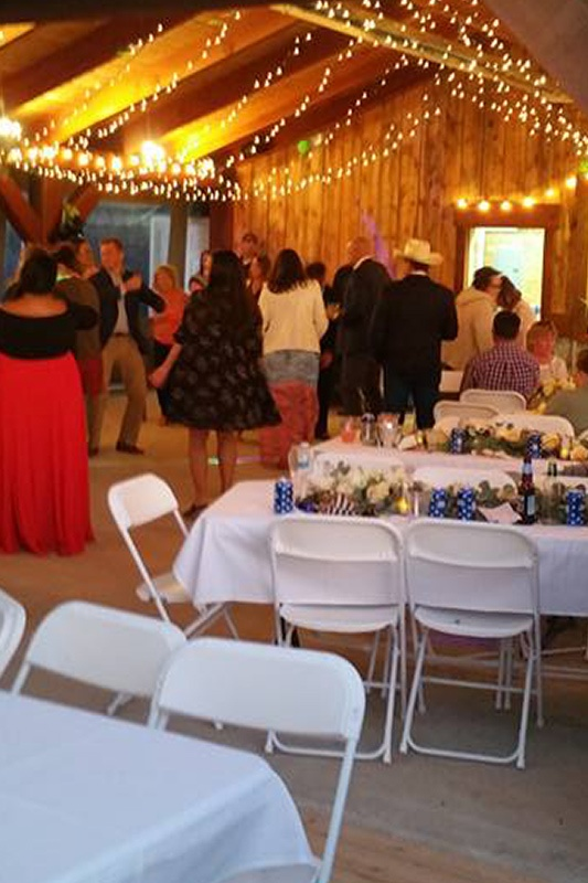 Image of a wedding reception.
