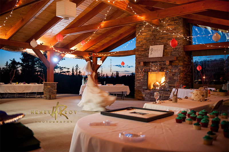 Powell wedding at Terry Peak Chalets Pavilion