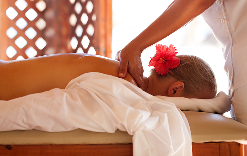 Massage services are available at Terry Peak Chalets